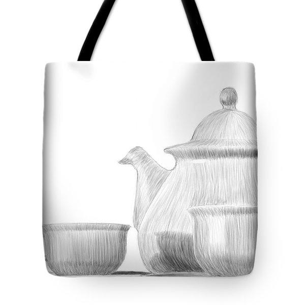 Teaware Tote Bag