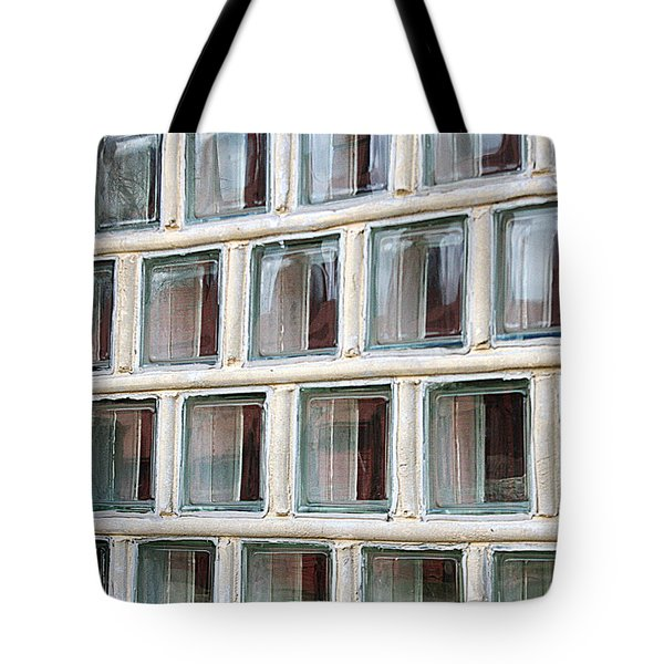 Tote Bag featuring the photograph Technocratic Windows by William Selander