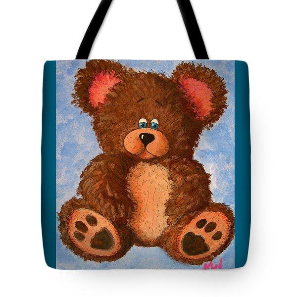 Ted Tote Bag by Megan Walsh