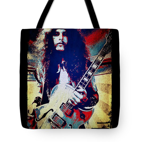 Ted Nugent - Red White And Blue Tote Bag