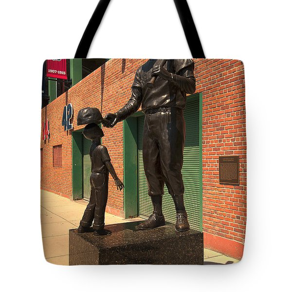 Ted Williams Tote Bag by Paul Mangold