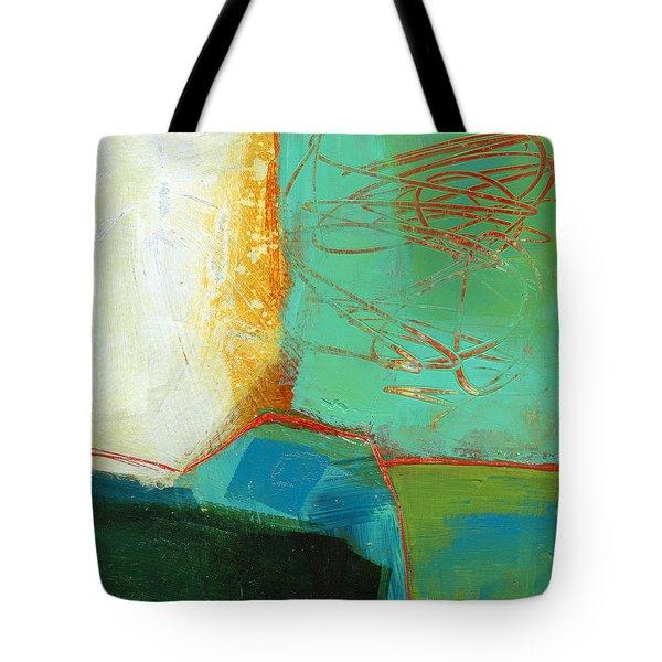 Teeny Tiny Art 110 Tote Bag by Jane Davies
