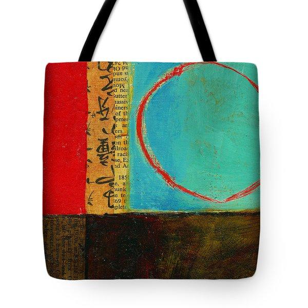 Teeny Tiny Art 113 Tote Bag by Jane Davies