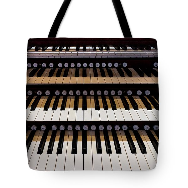 Teeth Of An Instrument Tote Bag