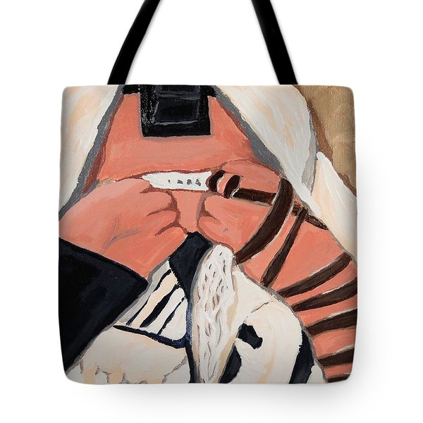 Tefillah- In Prayer Tote Bag