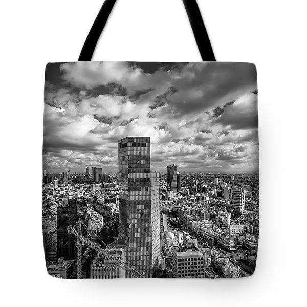 Tel Aviv High And Above Tote Bag