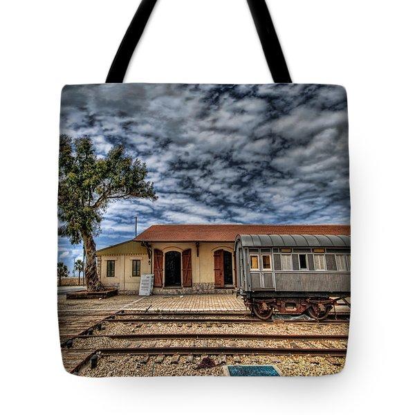 Tel Aviv Old Railway Station Tote Bag