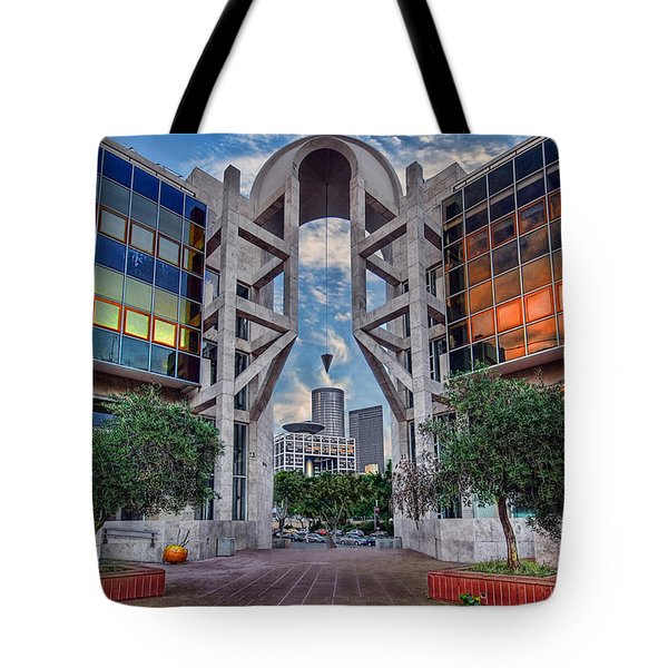 Tel Aviv Performing Arts Center Tote Bag by Ronsho