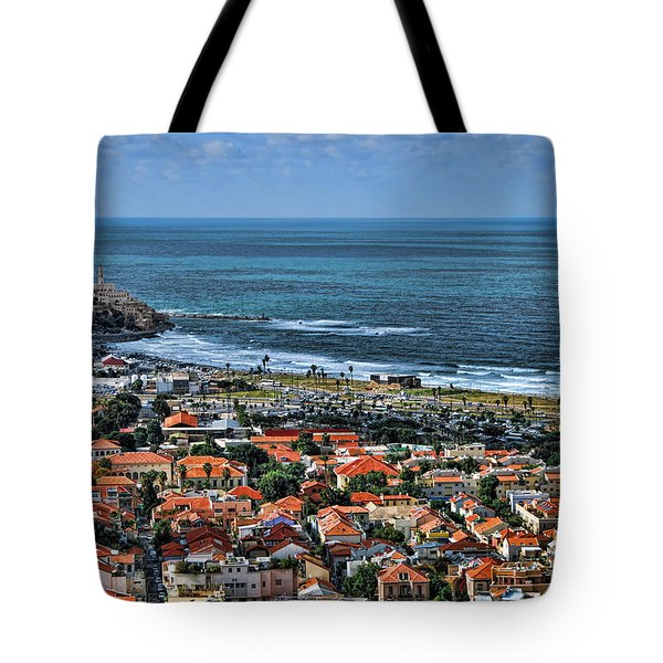 Tote Bag featuring the photograph Tel Aviv Spring Time by Ron Shoshani