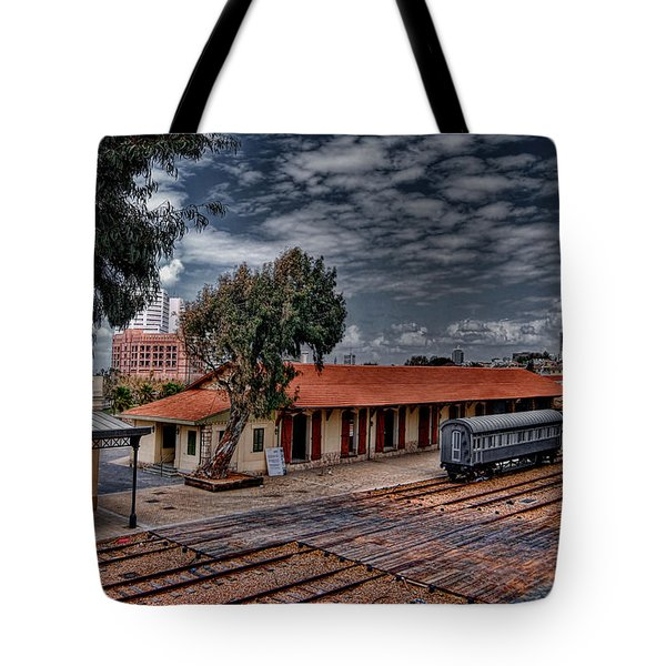 Tote Bag featuring the photograph Tel Aviv To Jerusalem by Ron Shoshani