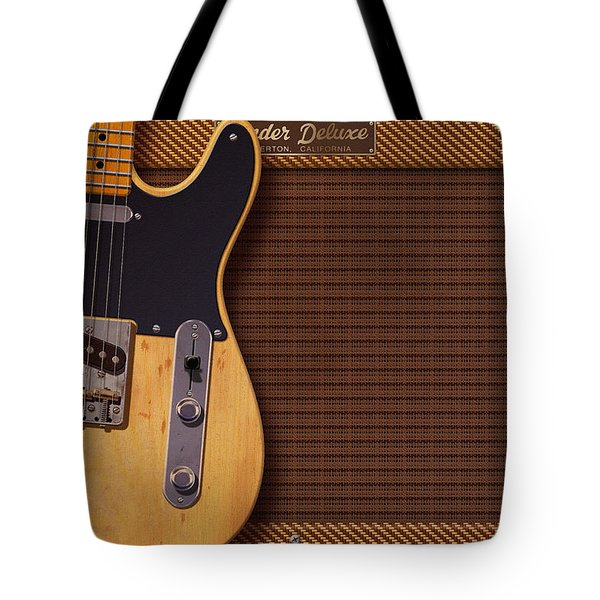 Telecaster Deluxe Tote Bag