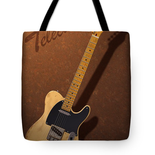 Telecaster Tote Bag by WB Johnston