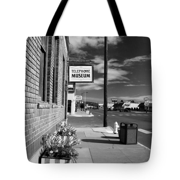 Telephone Museum Tote Bag by John Bushnell
