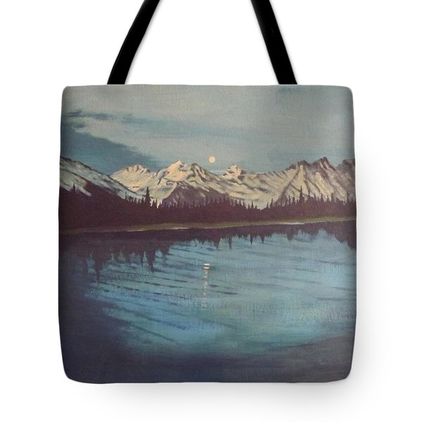 Telequana Lk Ak Tote Bag by Terry Frederick