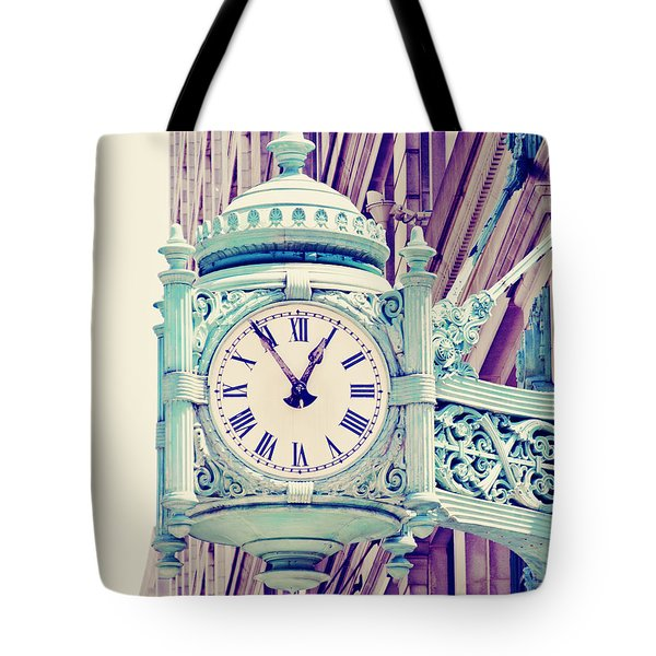 Telling Time Tote Bag