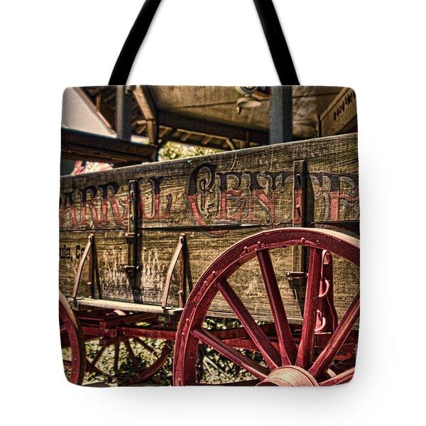 Temecula Wagon Tote Bag