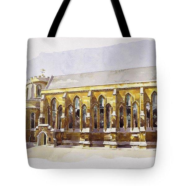Temple Church Tote Bag