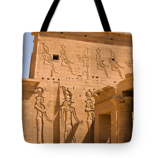 Temple Exterior Tote Bag by James Gay