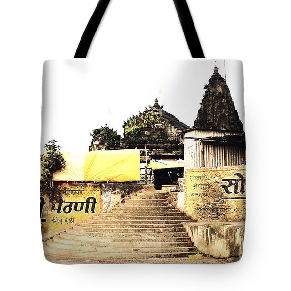 Temple In India Tote Bag by Sumit Mehndiratta