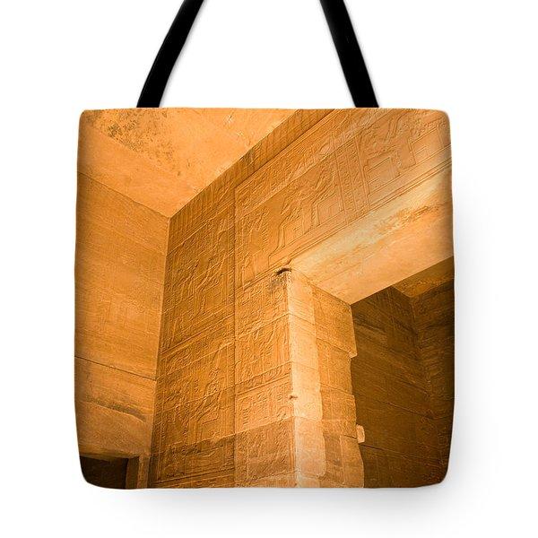 Temple Interior Tote Bag