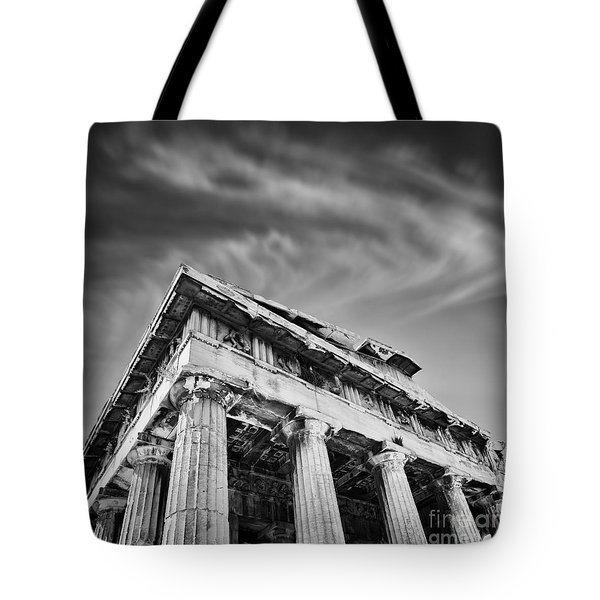 Temple Of Hephaestus- Athens Tote Bag