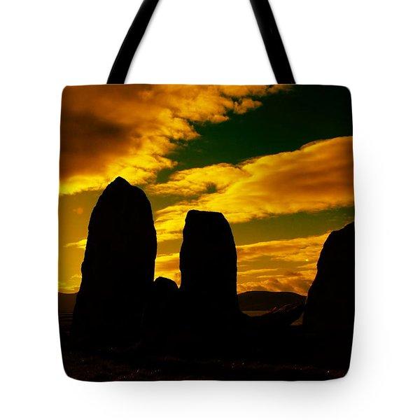 Temple Of The Ancients Tote Bag by Aidan Moran