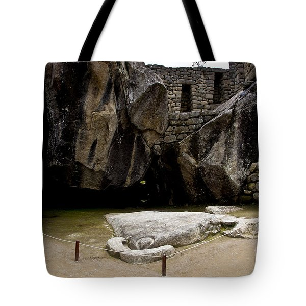 Temple Of The Condor Tote Bag