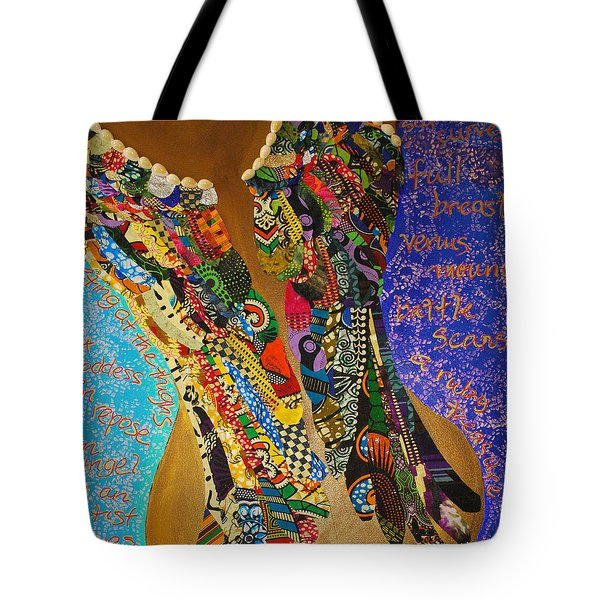 Temple Of The Goddess Eye Vol 1 Tote Bag by Apanaki Temitayo M