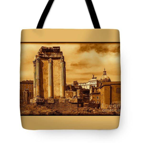 Temple Of Vesta Tote Bag
