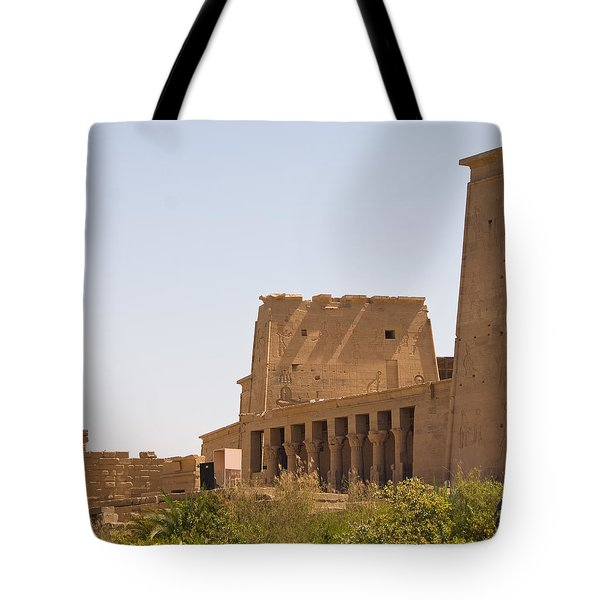 Temple View Tote Bag