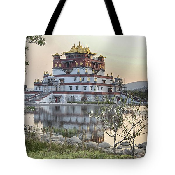 Temple Wuxi China Color Tote Bag