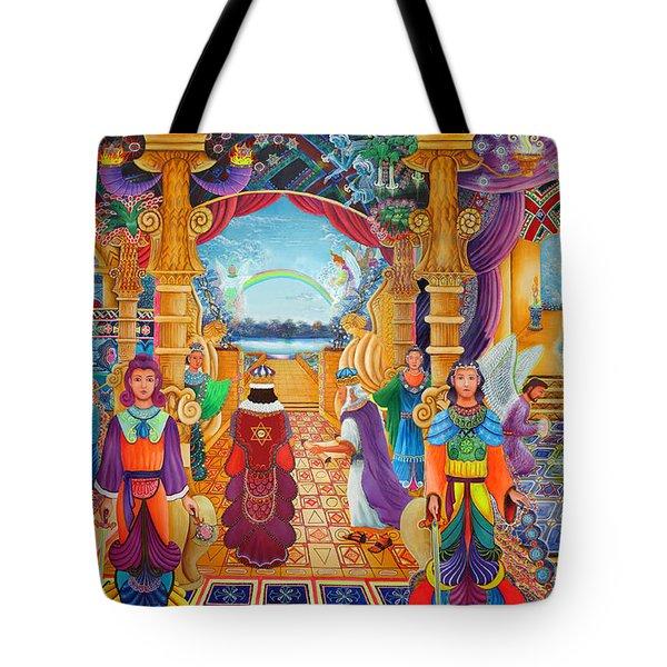 Templo Sacrosanto Tote Bag