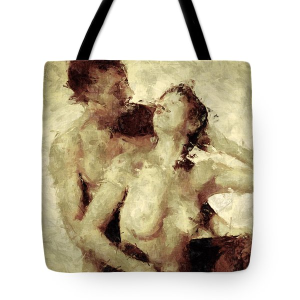Tempt Me Tote Bag by Kurt Van Wagner