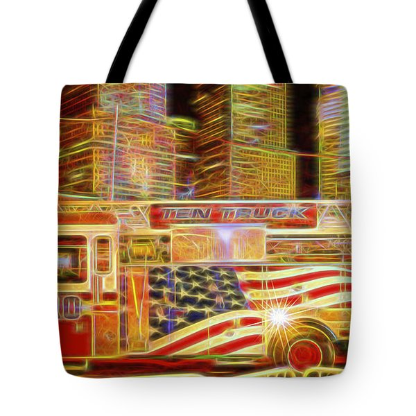 Ten Truck Tote Bag