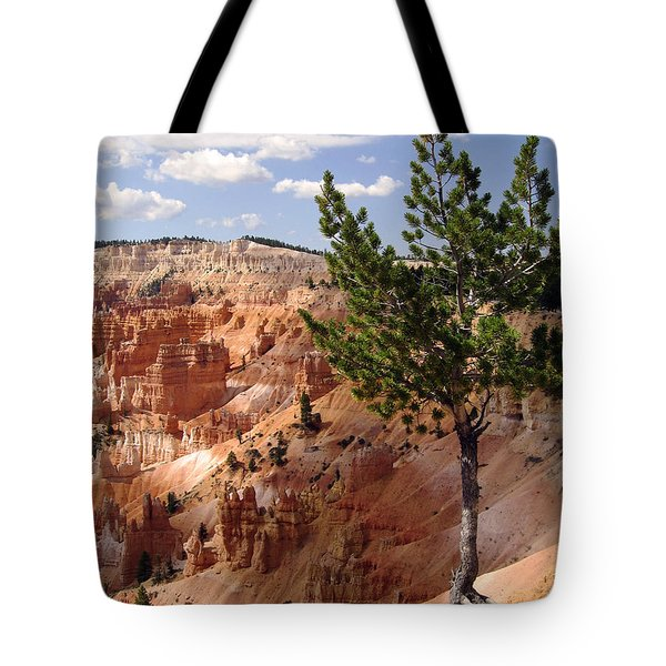 Tote Bag featuring the photograph Tenacious by Meghan at FireBonnet Art