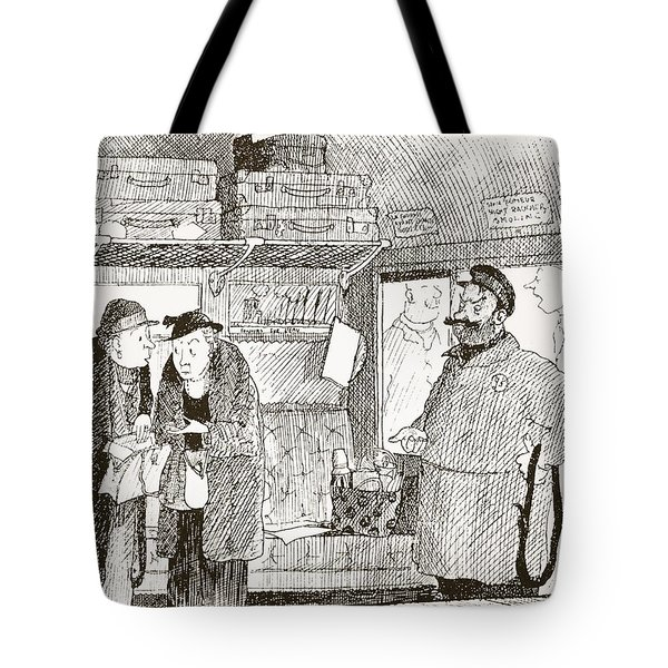 Tendency To Be Embarrassed By Foreign Tote Bag