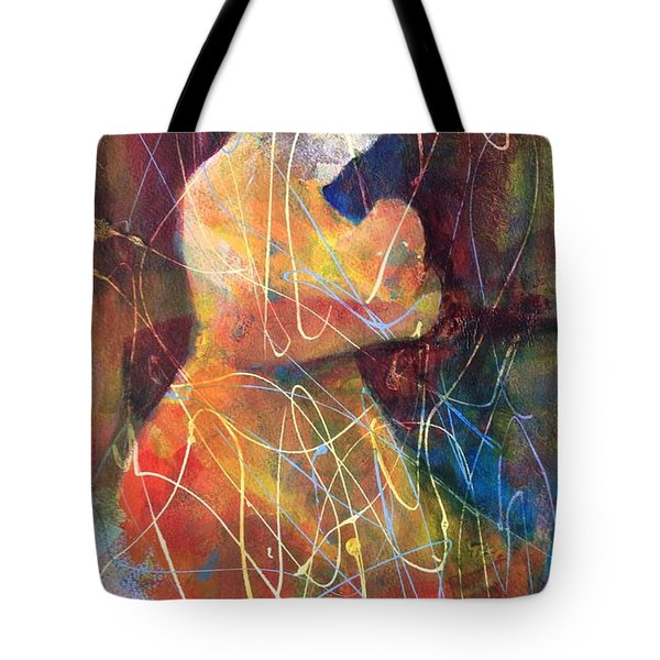 Tender Moment Tote Bag by Marilyn Jacobson
