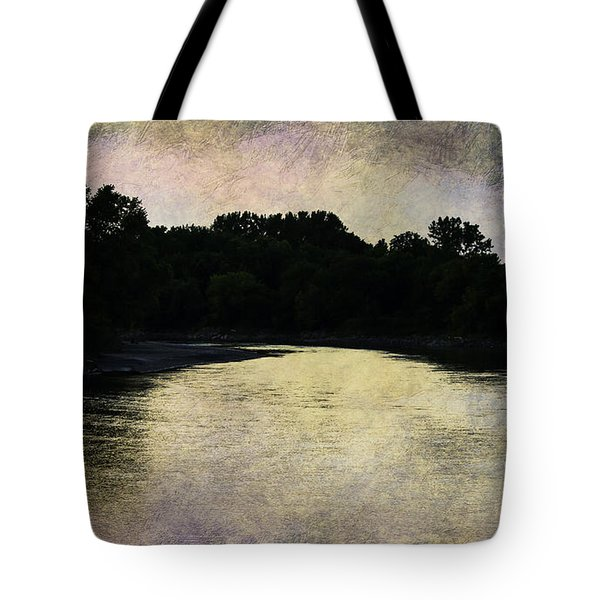 Tender Sundown Tote Bag