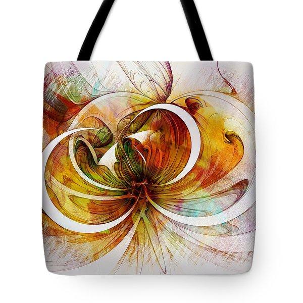 Tendrils 14 Tote Bag by Amanda Moore