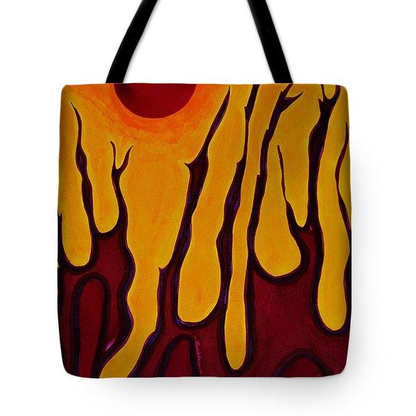Tendrils Original Painting Tote Bag