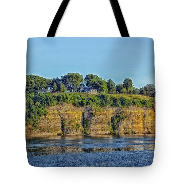 Tennessee River Cliffs Tote Bag by Mountain Dreams
