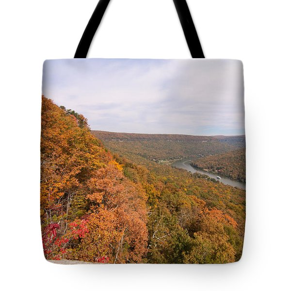 Tote Bag featuring the photograph Tennessee Riverboat Fall by Paul Rebmann
