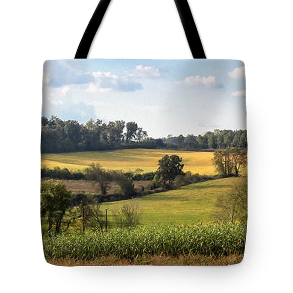 Tote Bag featuring the photograph Tennessee Valley by Todd Blanchard