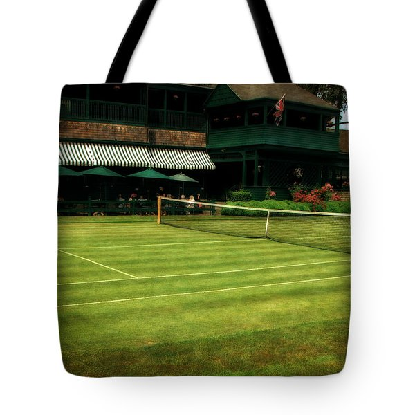 Tennis Hall Of Fame 2.0 Tote Bag by Michelle Calkins