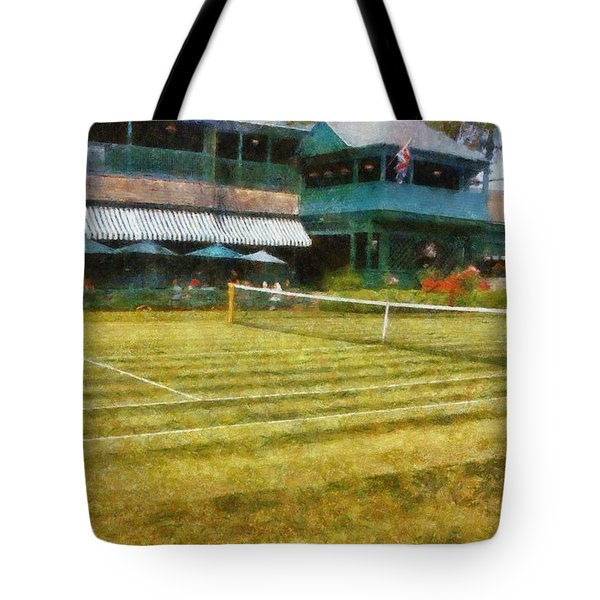 Tennis Hall Of Fame - Newport Rhode Island Tote Bag