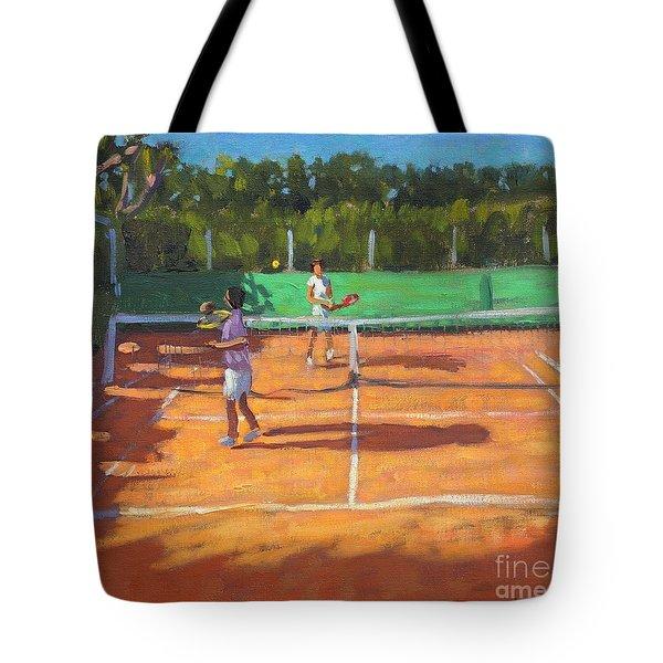 Tennis Practice Tote Bag