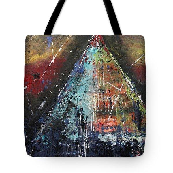Tent-ative Tote Bag