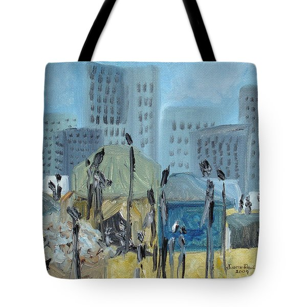 Tent City Homeless Tote Bag