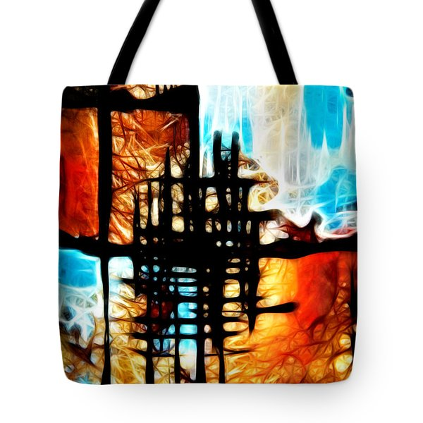 Tequila Sunrise Tote Bag by Mariola Bitner