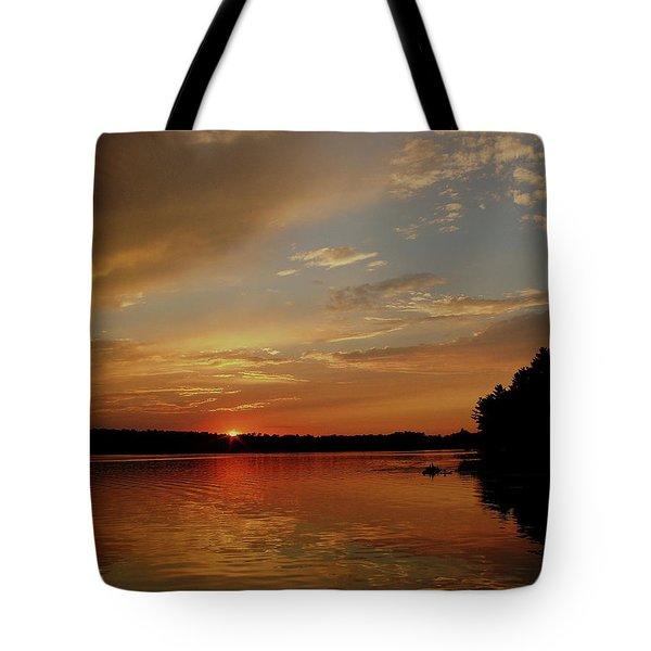 Sunrise...wisconsin Tote Bag